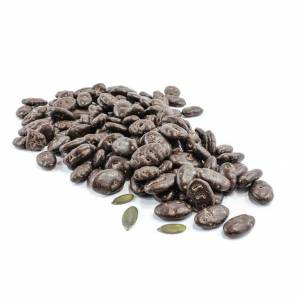 Dark Chocolate Coated Pumpkin Seeds image