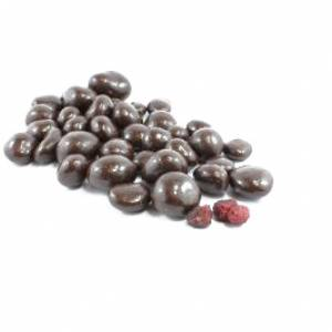 Dark Chocolate Freeze Dried Raspberries image
